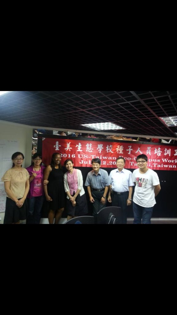 U.S. Taiwan Eco Campus Teacher Training Workshop 2016