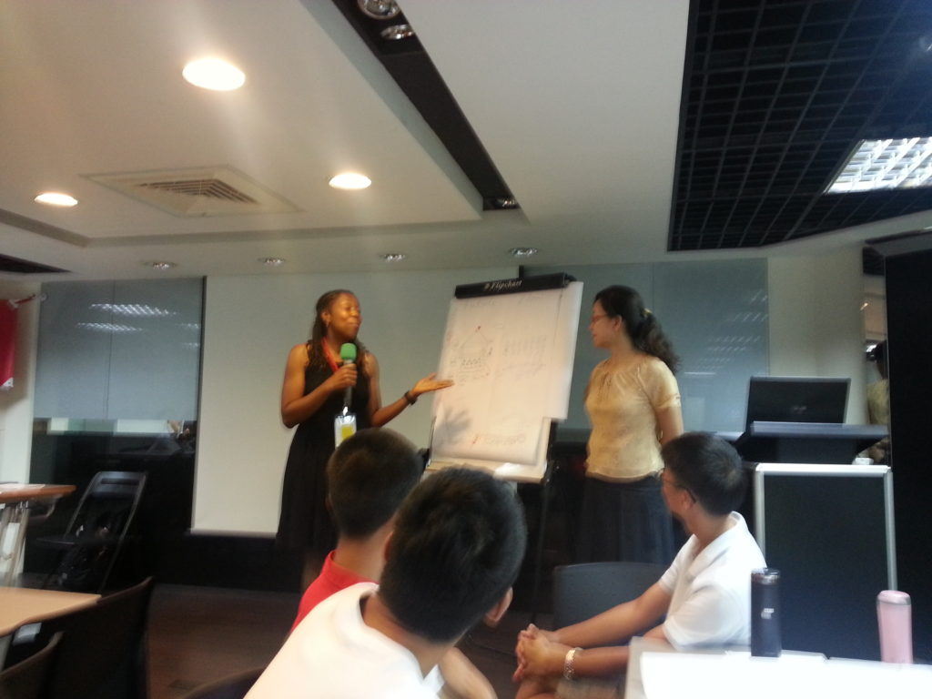 I had the opportunity to present to a group of educators and administrators at the US-Taiwan Eco-Campus Teacher Training Workshop (July 2016)