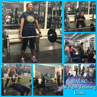 BALSC- Weight Training Session with UFE champion Kristin K,